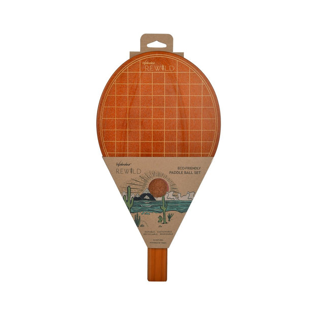 Rewild Wood Beach Paddle Set