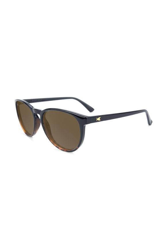 Glossy Black and Tortoise Shell Fade - Amber Mai Tais - Polarized