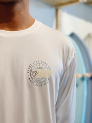 Gypsy Life Surf Shop - John Garza Collab Bahamas Strong - Men's Long-Sleeved Performance Shirt