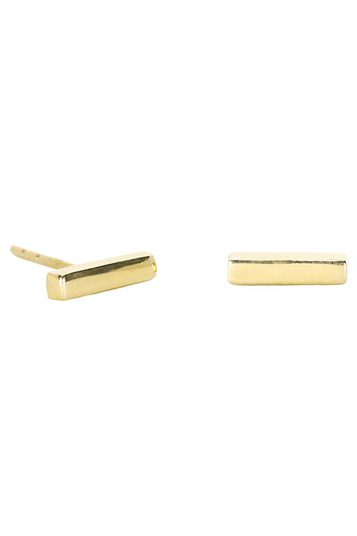 Bar Earrings - Gold