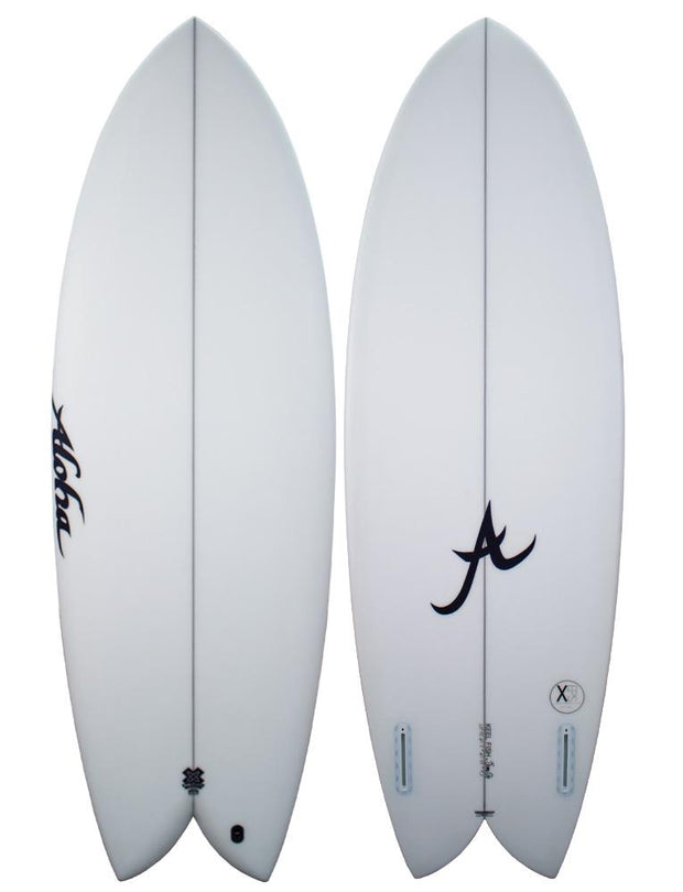 5'10 Keel Twin XE Clear - Futures