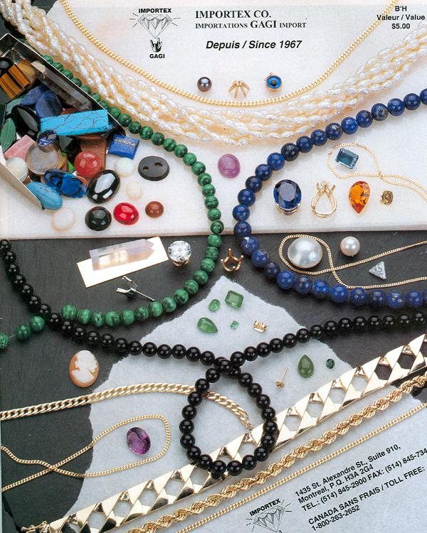 Importex & Gagi Catalog - Stones and Supplies - Thenetjeweler by Importex
