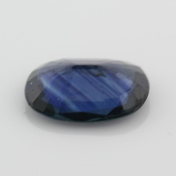 1.73 carat Oval Blue Sapphire Loose Gemstone 7.02 x 9.01 mm - Thenetjeweler by Importex