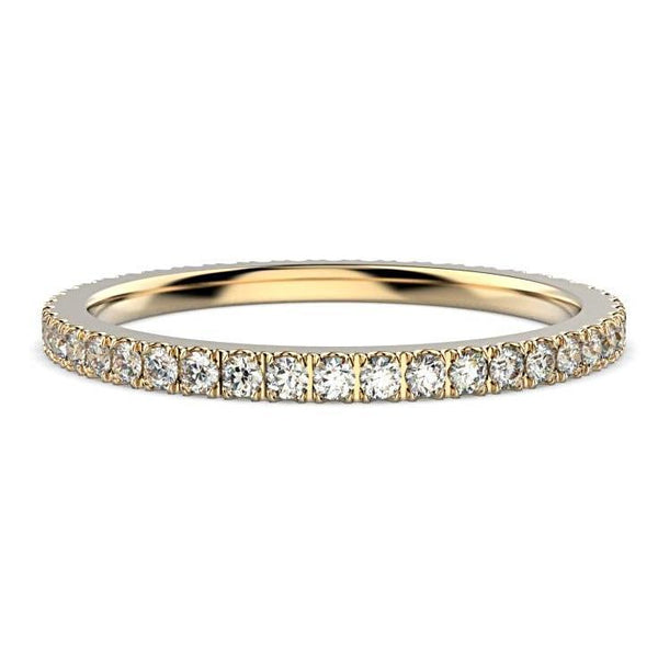 Diamond Eternity Ring Band Platinum (0.45 ct. tw.) - Thenetjeweler