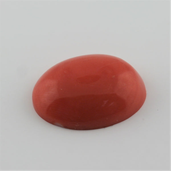 Pink Coral Gemstone Oval Shape Cabochon - Thenetjeweler