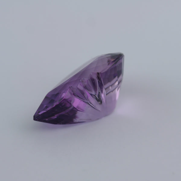 Violet Amethyst loose stone fancy shape