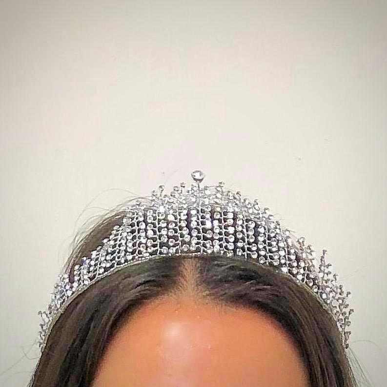 Wedding Headband Bridal Tiara Sterling Silver - Thenetjeweler