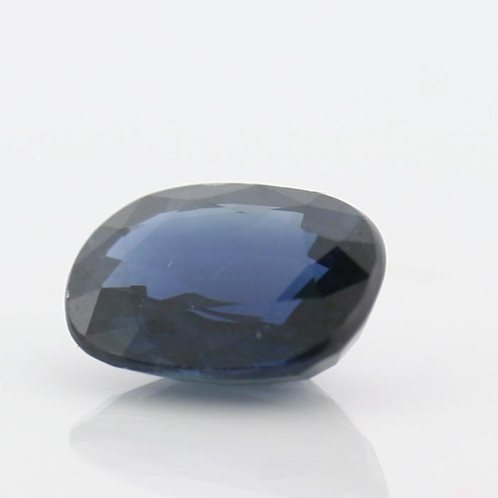 2.35 carat Oval Blue Sapphire Certified 7.03 x 9.17 mm - Thenetjeweler