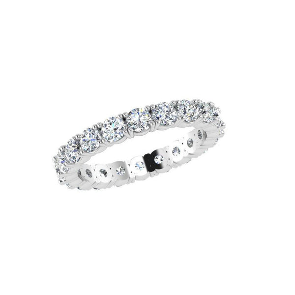 Diamond Full Eternity Ring 1.65 ct. TW - Thenetjeweler