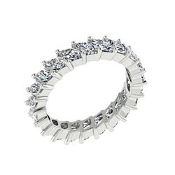 Marquise Cut Diamond Eternity Ring 18K White Gold - Thenetjeweler