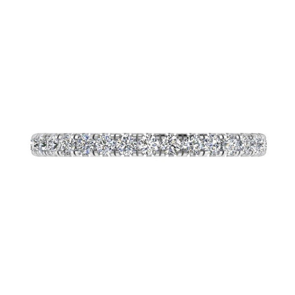 3/4 Diamond Eternity Ring 18K Gold 0.42 ct. TW - Thenetjeweler