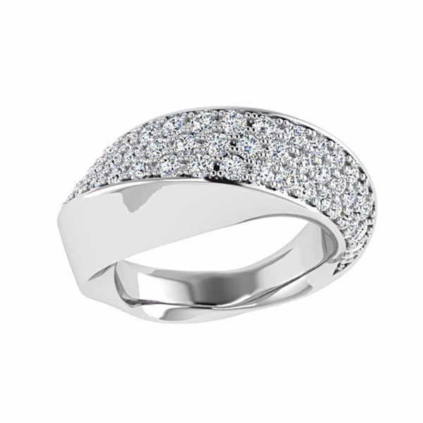 Pave Diamond Ring 14K Gold - Thenetjeweler