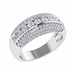 Pave Diamond Ring 18K Gold - Thenetjeweler