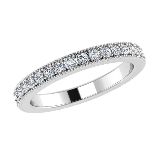 Channel Set Round Diamond Eternity Band 0.45 ct. tw