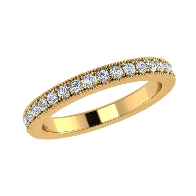Channel Set Round Diamond Eternity Band 0.45 ct. tw - Thenetjeweler