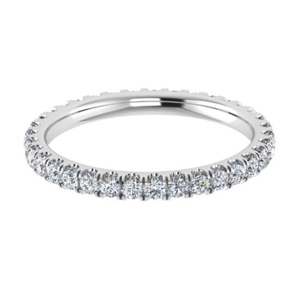 Diamond Full Eternity Ring 0.76 ct. tw - Thenetjeweler