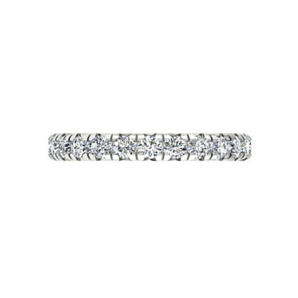 Diamond Eternity Ring Band 18K Gold (0.85 ct. tw.) - Thenetjeweler