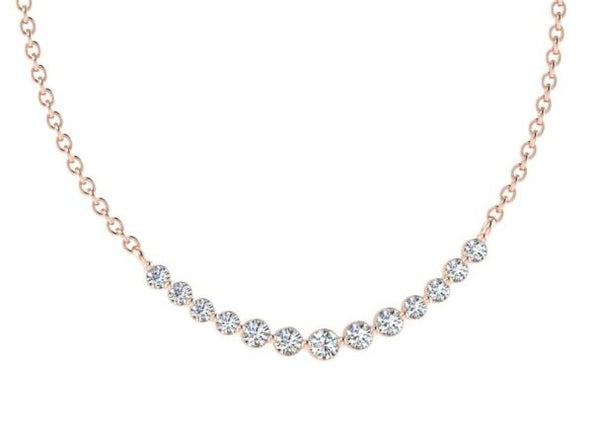 Graduated Diamond Necklace - Thenetjeweler