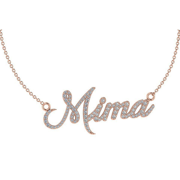 Personalised Diamond Name Necklace