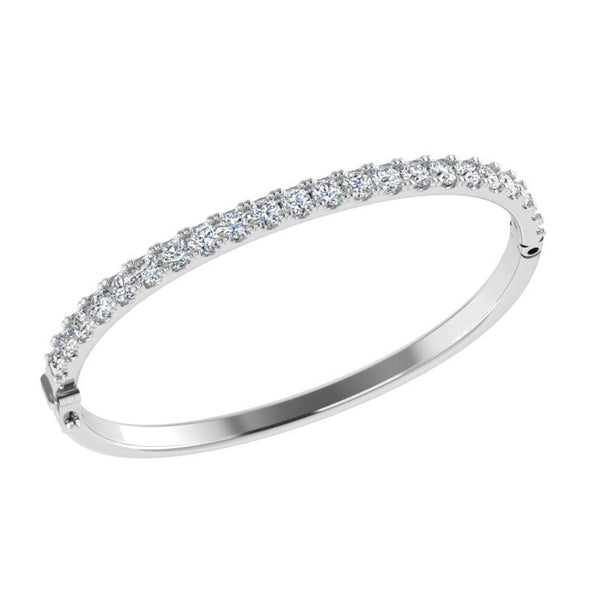 3 carat Diamond Bangle Bracelet
