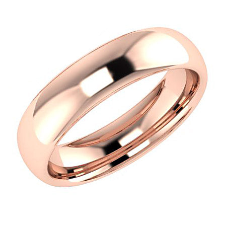 5mm wedding band ring
