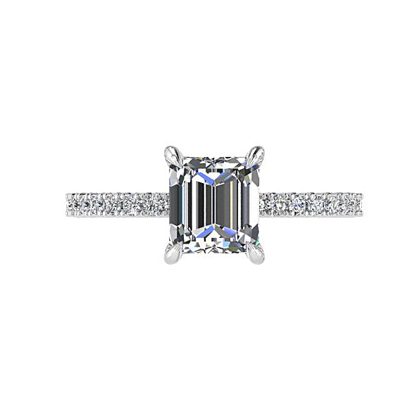 Princess Cut Diamond Engagement Ring (0.22 ct. tw.)