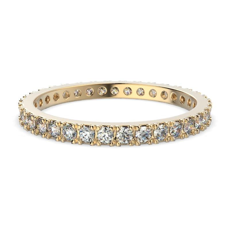 Diamond Eternity Ring Band 18K Gold (0.65 ct. tw.) - Thenetjeweler