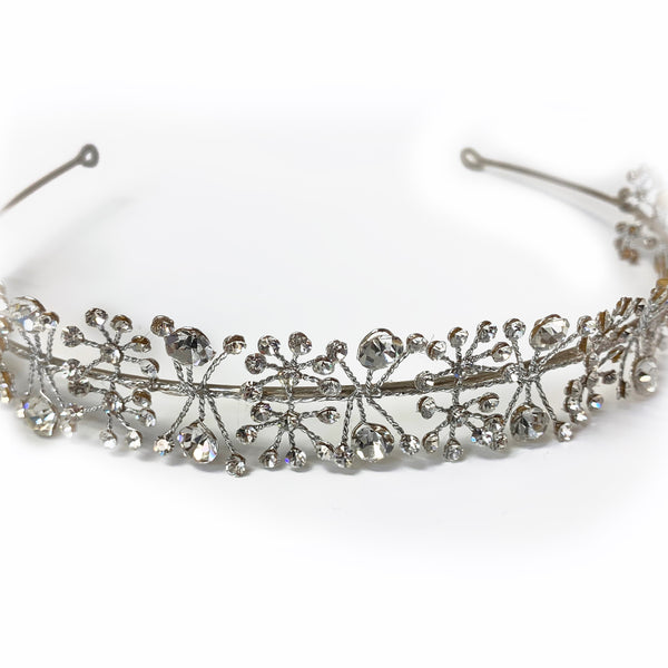 Sterling Silver Wedding Headband - Thenetjeweler
