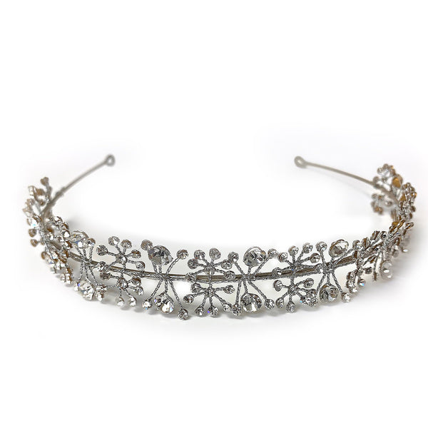 Sterling Silver Wedding Headband