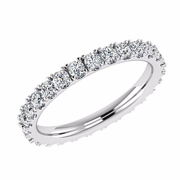Diamond Eternity Ring 14K Gold (0.80 ct. tw.) - Thenetjeweler