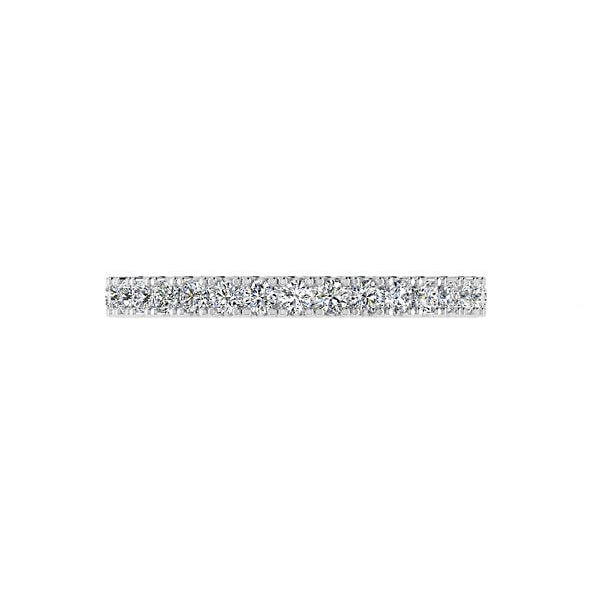 Diamond Semi Eternity Ring 0.29 carats - Thenetjeweler