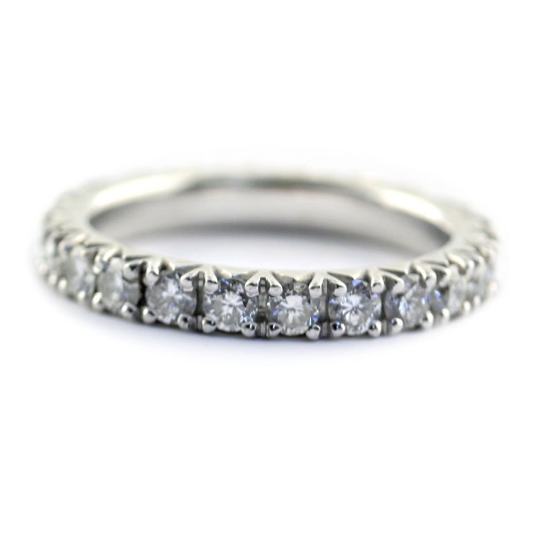Round Diamond Eternity Band 0.69 ct.tw - Thenetjeweler