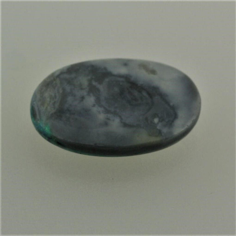 Black Opal Cabochon 9.40 carats Brightness 4 - Thenetjeweler