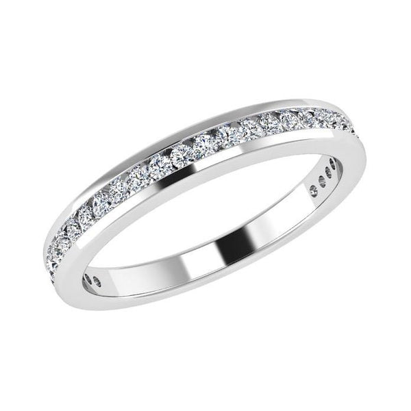 Semi-Eternity - Diamond Half Eternity Ring 18K Gold (0.31 Ct. Tw)