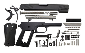 "9 / Government 5"" / Anodized Black 1911 Build Kit"