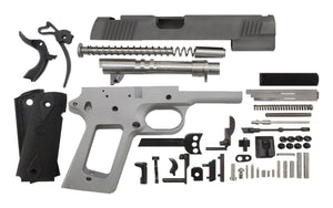 "9 / Government 5"" / Bead Blasted 1911 Build Kit"