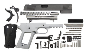 "9 / Government 5"" Tactical  / Bead Blasted 1911 Build Kit"