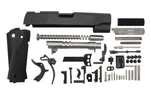 "45 / Government 5"" Anodized Black Slide 1911 Parts Kit"