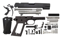"45 / Government 5"" Tactical  / Anodized Black 1911 Build Kit"