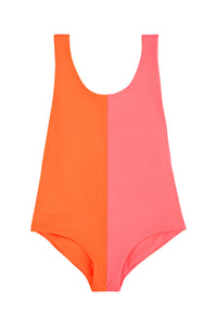 ISABELLE ONE PIECE ORANGE PINK