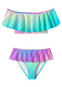 Rain Draped Bikini for Girls