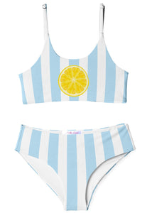 Slice and Stripe Bikini