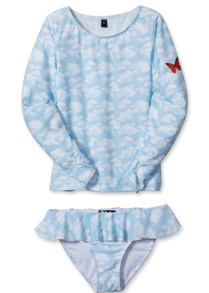 Blue Skies Rashguard set