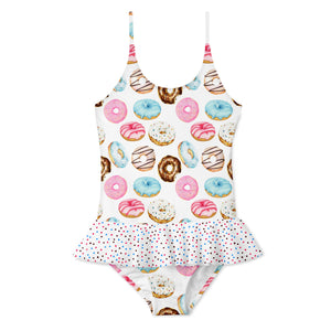Donut Skirt Swimsuit