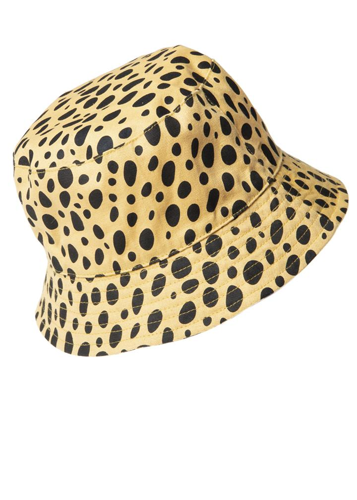 Cheetah Bucket Hat fit 3-6y or 7-10y
