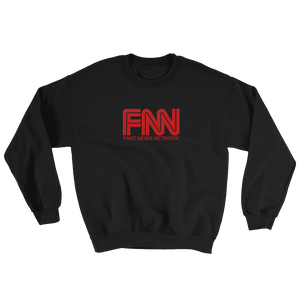 """Fake News Network"" Sweatshirt - rightreality"