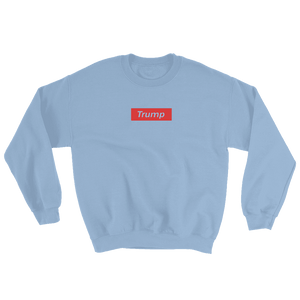 "Trump ""Red Box Logo"" Sweatshirt - RightReality™"