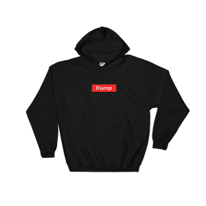 "Trump ""Red Box Logo"" Hoodie - RightReality™"