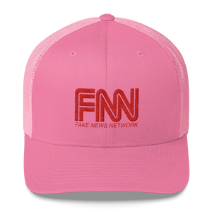 """Fake News Network"" Trucker Cap - rightreality"