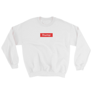 "Trump ""Red Box Logo"" Sweatshirt - rightreality"